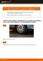 Cómo cambiar y ajustar Brazo oscilante FIAT PUNTO: tutorial pdf
