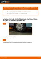 Návod na riešenie problémov: FIAT PUNTO manuál