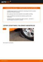 Udskift tårnleje for - VW Golf 4 | Brugeranvisning