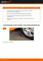 Hvordan bytte Valselager bak og foran VW GOLF IV (1J1) - guide online