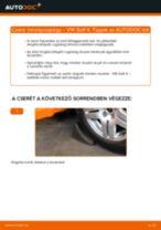 Elülső toronycsapágy-csere VW Golf 4 gépkocsin – Útmutató