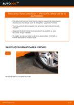 Cum schimbare Palier amortizor față și spate VW GOLF IV (1J1) - tutoriale online