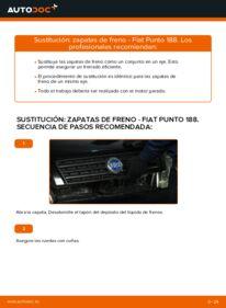 Cómo realizar una sustitución de Zapatas de Freno en un FIAT PUNTO