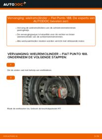 Vervanging uitvoeren: Wielremcilinder 1.2 60 Fiat Punto 188