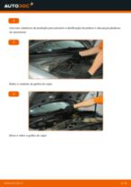 Como mudar filtro habitáculo em VW Passat B5 Variant gasolina - guia de substituição