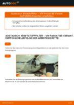 Wie VW Passat B5 Variant Benzin Kraftstofffilter wechseln - Anleitung