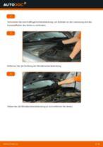 Stabilisatorstange VW PASSAT Variant (3B6) einbauen - Schritt für Schritt Tutorial