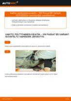 PDF opas PASSAT -huollosta