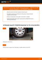 Jak wymienić końcówkę drążka kierowniczego w VW Passat B5 Variant benzyna - poradnik naprawy