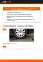 Jak vyměnit kulový čep řízení na VW Passat B5 Variant benzín – návod k výměně