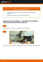 Vodič PDF po korakih za menjavo VW PASSAT Variant (3B6) Komplet (kit) zobatega jermena