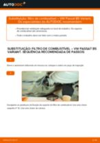 PDF manual sobre manutenção de PASSAT