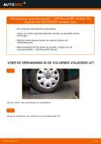 Hoe spoorstangeind vervangen bij een VW Passat B5 Variant benzine – vervangingshandleiding