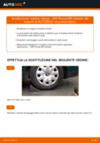 Manuale online su come cambiare Vetro specchio Ford Fiesta ja8
