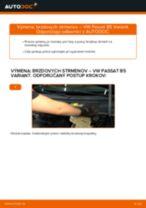 Online návod, ako svojpomocne vymeniť Gumy stabilizátora na aute Citroen Nemo Kombi