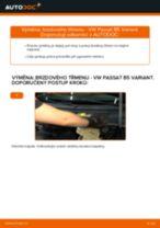 Jak vyměnit zadní brzdový třmen na VW Passat B5 Variant benzín – návod k výměně