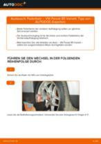 Montage Bremsbacken Handbremse VW PASSAT Variant (3B6) - Schritt für Schritt Anleitung