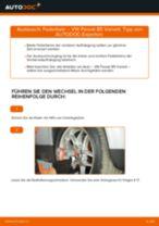 Stoßdämpfer auswechseln VW PASSAT: Werkstatthandbuch