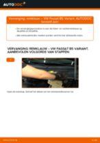 Hoe remklauw vooraan vervangen bij een VW Passat B5 Variant benzine – Leidraad voor bij het vervangen