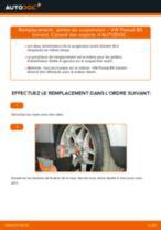 Comment changer : jambe de suspension avant sur VW Passat B5 Variant essence - Guide de remplacement