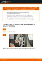 Cómo cambiar: amortiguador telescópico de la parte delantera - VW Passat B5 Variant gasolina | Guía de sustitución