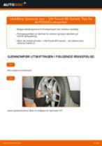 endring Fjærbein i VW PASSAT Variant (3B6) – tips og triks