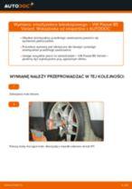Jak wymienić amortyzator teleskopowy przód w VW Passat B5 Variant benzyna - poradnik naprawy