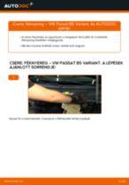 SKODA hátsó és első Dobfék fékpofa cseréje csináld-magad - online útmutató pdf
