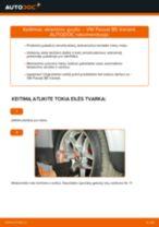 Kaip pakeisti ir sureguliuoti Amortizatoriaus atrama VW PASSAT: pdf pamokomis