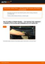 Cum să schimbați: etrier frana din față la VW Passat B5 Variant benzina   Ghid de înlocuire