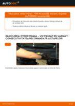Cum să schimbați: etrier frana din spate la VW Passat B5 Variant benzina | Ghid de înlocuire
