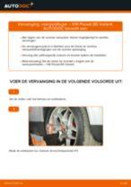 Hoe veerpootlager vooraan vervangen bij een VW Passat B5 Variant benzine – vervangingshandleiding