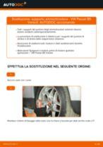 Come cambiare supporto ammortizzatore della parte anteriore su VW Passat B5 Variant benzina - Guida alla sostituzione