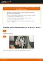Jak wymienić poduszka amortyzatora przód w VW Passat B5 Variant benzyna - poradnik naprawy