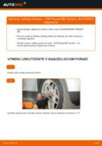Ako vymeniť predné ložisko kolesa na VW Passat B5 Variant bensin – návod na výmenu