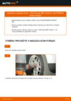 Jak vyměnit přední ložisko kola na VW Passat B5 Variant benzín – návod k výměně