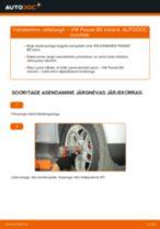 Asendamine Rattalaager VW PASSAT: käsiraamatute