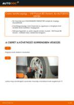 VW PASSAT Variant (3B6) Kerékcsapágy készlet beszerelése - lépésről-lépésre útmutató