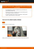 Cum se înlocuiesc și se ajustează Set rulment roata VW PASSAT: manual pdf