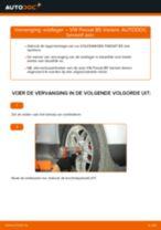 Hoe wiellager vooraan vervangen bij een VW Passat B5 Variant benzine – vervangingshandleiding