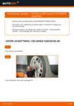 Udskiftning af Hjullejesæt bag og foran VW gør det selv - online manualer pdf