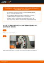 Cómo cambiar: cojinete de rueda de la parte delantera - VW Passat B5 Variant gasolina | Guía de sustitución