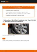 Online návod, ako svojpomocne vymeniť Zapalovacia sviečka na aute VW TRANSPORTER IV Bus (70XB, 70XC, 7DB, 7DW)