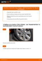 Jak vyměnit kulový čep řízení na VW Transporter T4 – návod k výměně