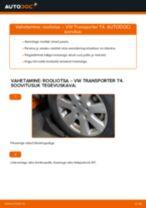 Kuidas vahetada VW Transporter T4 rooliotsa – õpetus