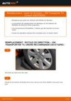 Changement Rotule De Direction VW TRANSPORTER : manuel d'atelier