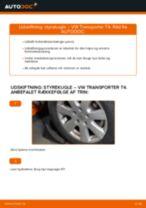 Instruktionsbog VW TRANSPORTER