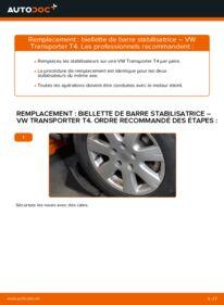 Comment effectuer un remplacement de Biellette De Barre Stabilisatrice sur 2.5 TDI VW Transporter T4