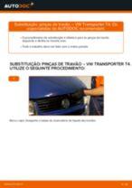 Mudar Pinças de freio traseiro e dianteiro VW faça você mesmo - manual online pdf