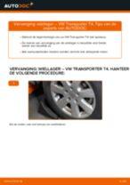 Wiellagerset VW TRANSPORTER IV Bus (70XB, 70XC, 7DB, 7DW) monteren - stap-voor-stap tutorial